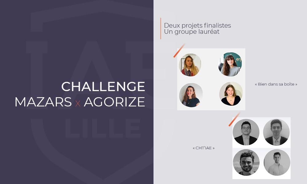 Challenge Mazars x Agorize : 4 étudiantes lauréates, 4 étudiants finalistes
