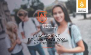 Six masters IAE Lille dans le classement Eduniversal