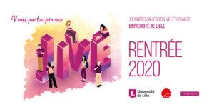 Chaque année l'Université de Lille organise ses Journées d'Immersion et de Vie Étudiante.