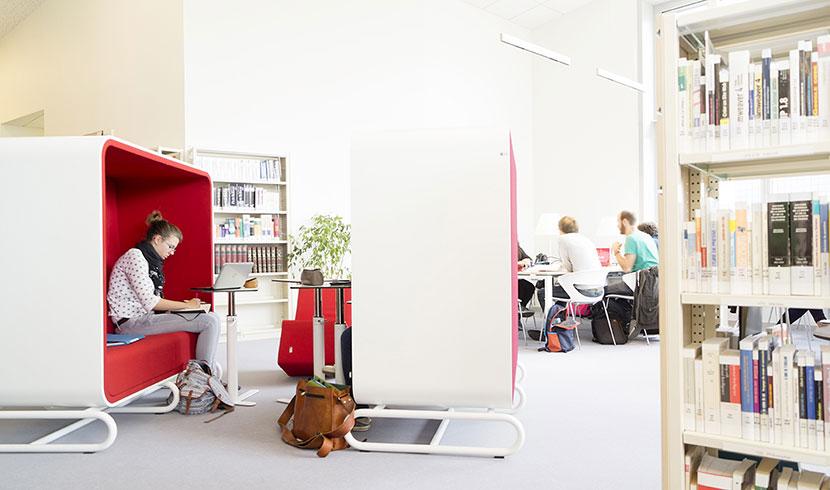 Service sur le campus - Bibliothèque site Roubaix - IAE Lille