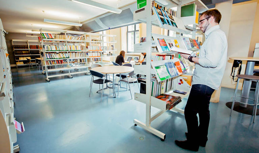 Service sur le campus - Centre de documentation site Vieux Lille - IAE Lille