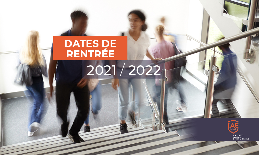 date rentrée IAE Lille 2021-2022