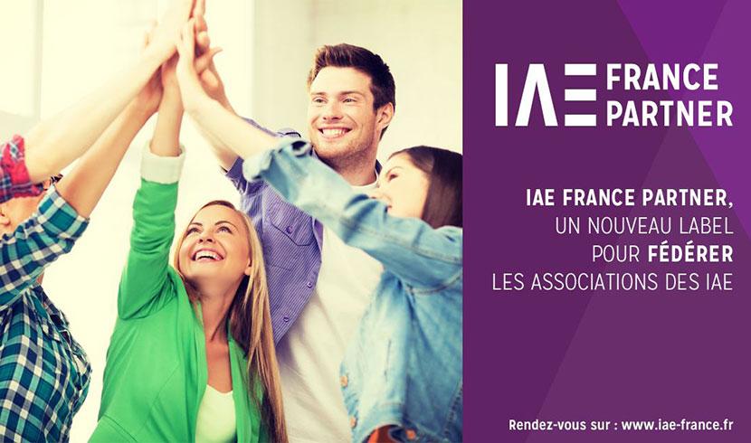 IAE France Partenaire Label - IAE Lille