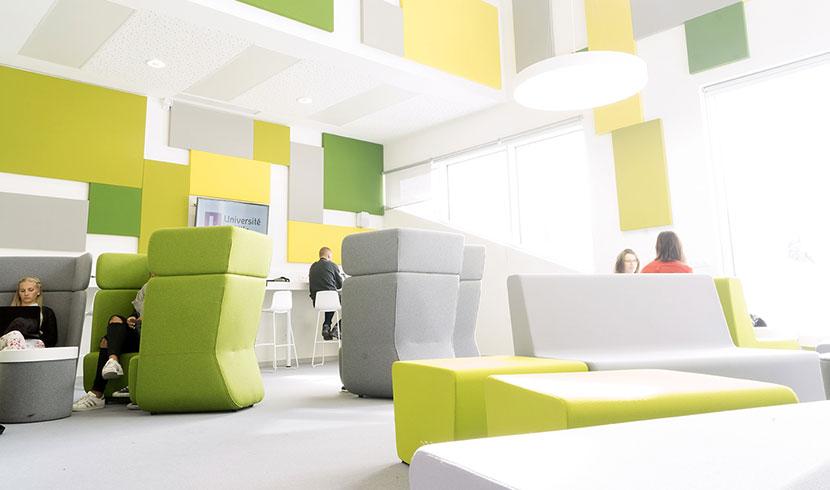 Service sur le campus - Restauration site Roubaix - IAE Lille
