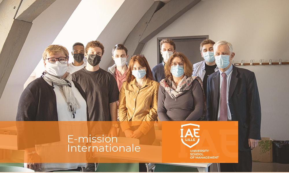 E-mission internationale de la licence pro MCI en PME
