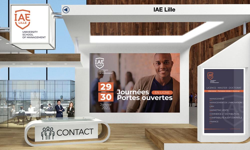 IAE Lille salon etudiant 2021