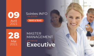 soirées d'information master executive